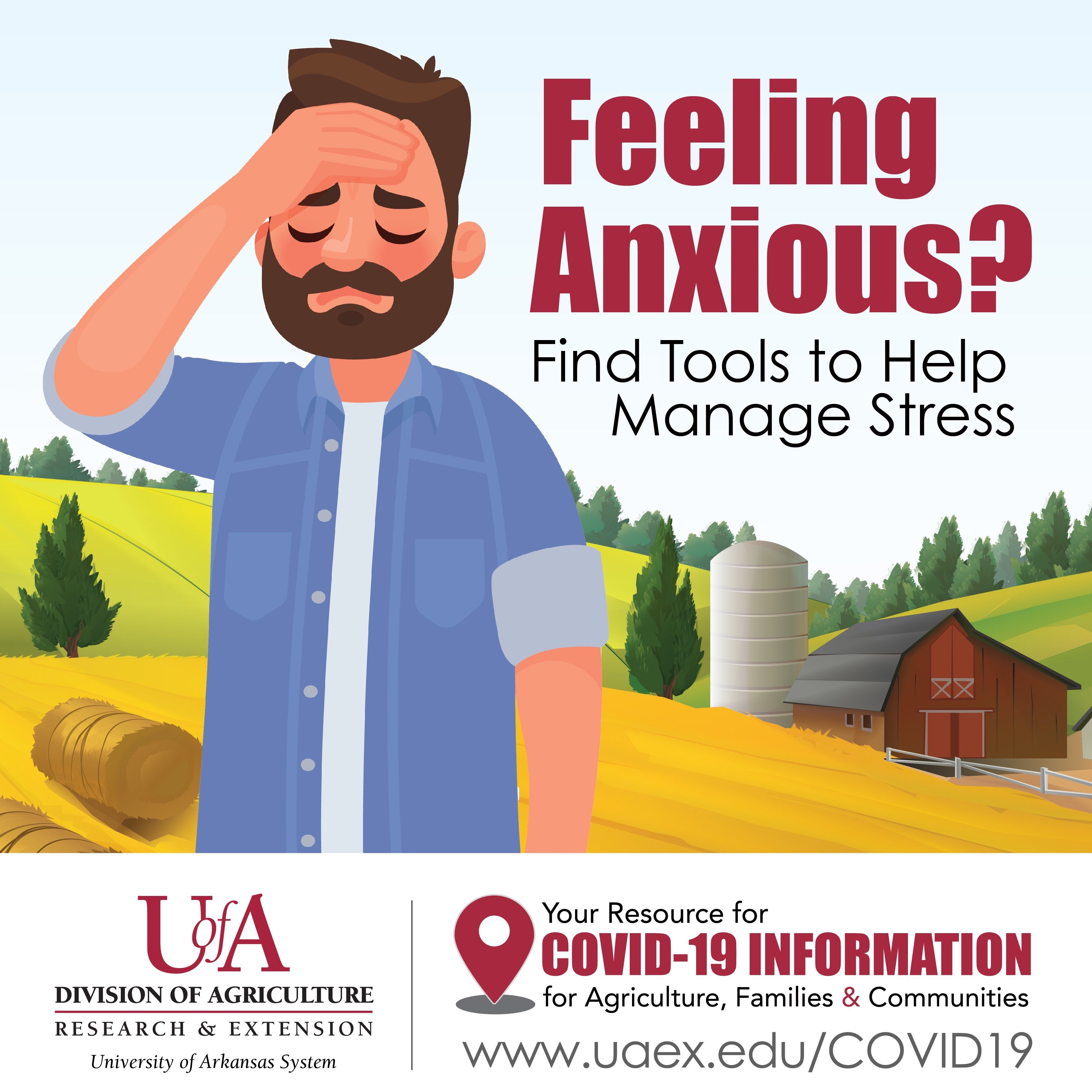 Feeling anxious? Find tools to help manage stress