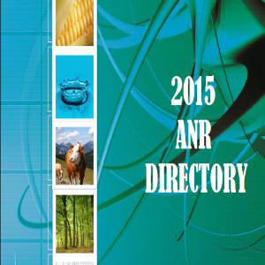 ANR Directory | Arkansas Extension