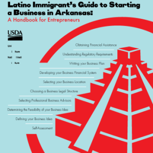 Cover page of MP-497, Latino Immigrant's Guide to Starting a Business in Arkansas