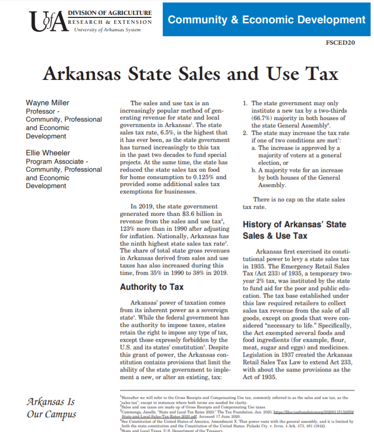 Picture of State Sales and Ust tax cover