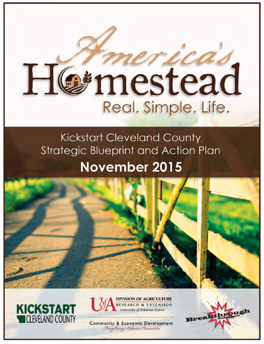 Cover of Kickstart Cleveland County Strategic Blueprint and Action Plan