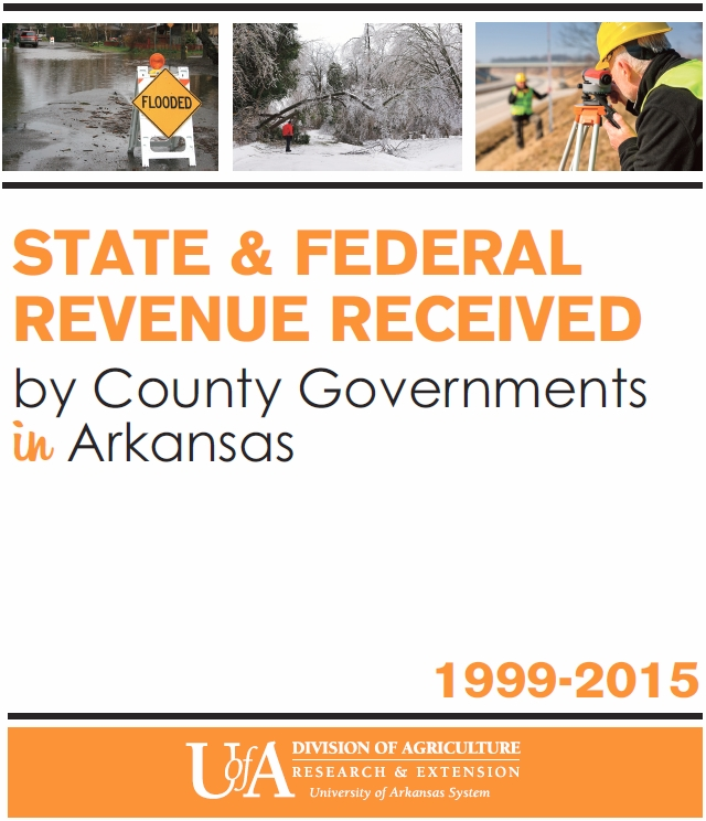 Cover art for State and Federal Revenue Received by County Governments in Arkansas