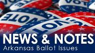 Ballot issue newsletter header
