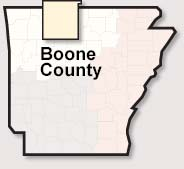 Boone County map