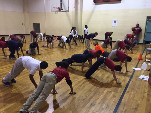 Yoga for Kids Program at Lakeside Elementary School