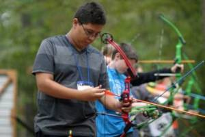 photo of youth archer