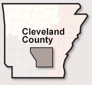 Cleveland County map