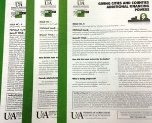 publications showing ballot issues
