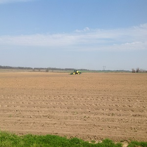 Corn planting on James Mill Road