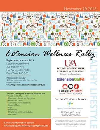 Wellness Rally Poster
