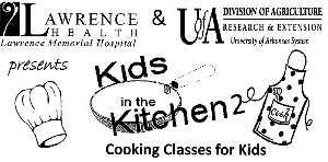 Kids in the Kitchen Logo for cooking classes for kids