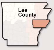 Lee County map