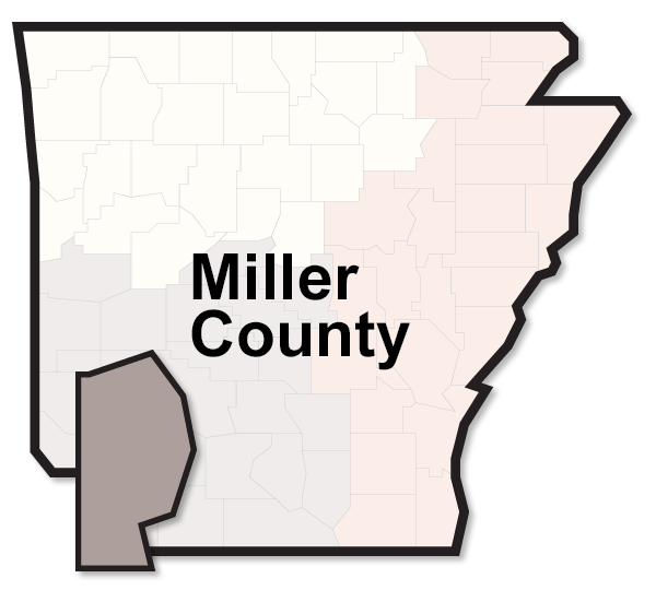 Miller County map