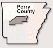 Perry County map