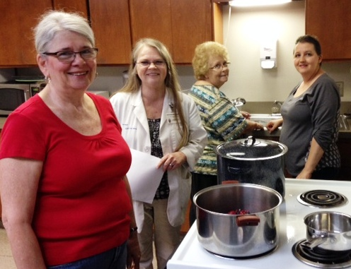 Agent Kris Elliott teaches how to safely can food at home with research based practices.