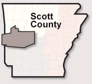 Scott County map
