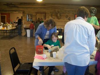 Master Gardeners working with youth