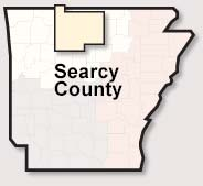 Searcy County map