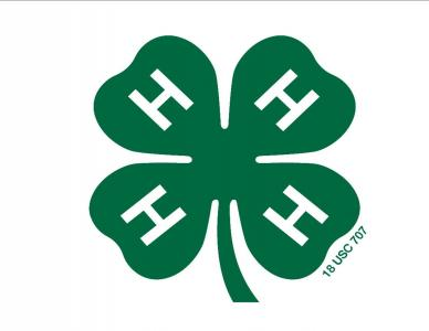 4-H Logo-green 4 leaf clover with the letter H on each leaf