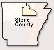 Stone County map