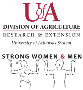 U of A Division of agriculture research and extension strong women and men logo