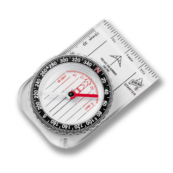 image of a simple hand-held compass