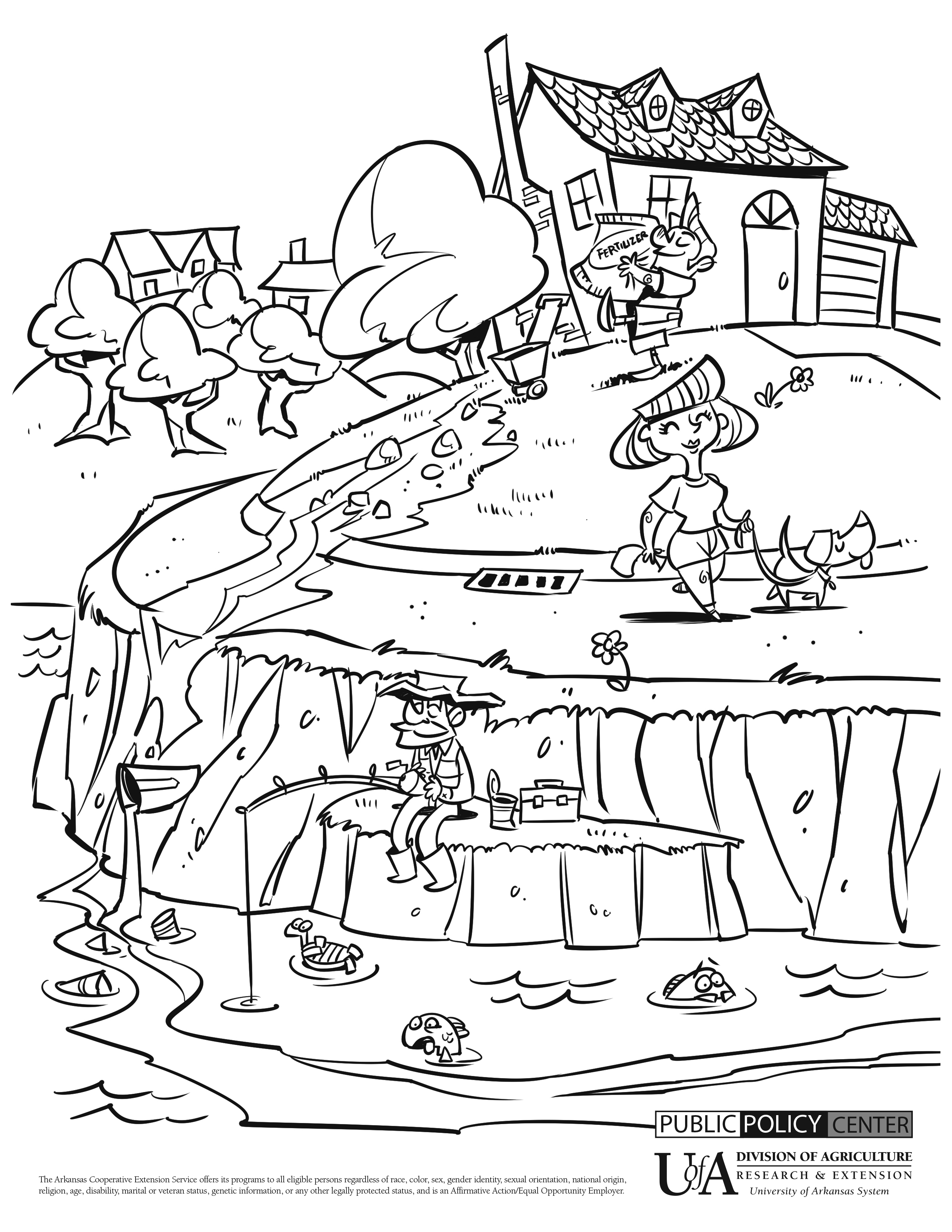 coloring pages land and water - photo#18