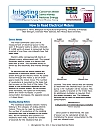 3241-I How to Read Electrical Meters | Irrigating Smart: Pumping Plant Efficiency Series | Arkansas Extension