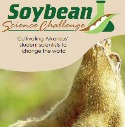Arkansas Soybean science challenge cover image with soybeans close up