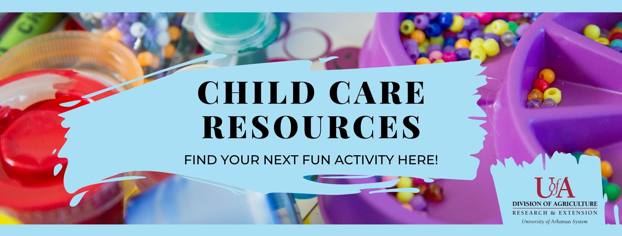 Child care resources - find your next fun activity here