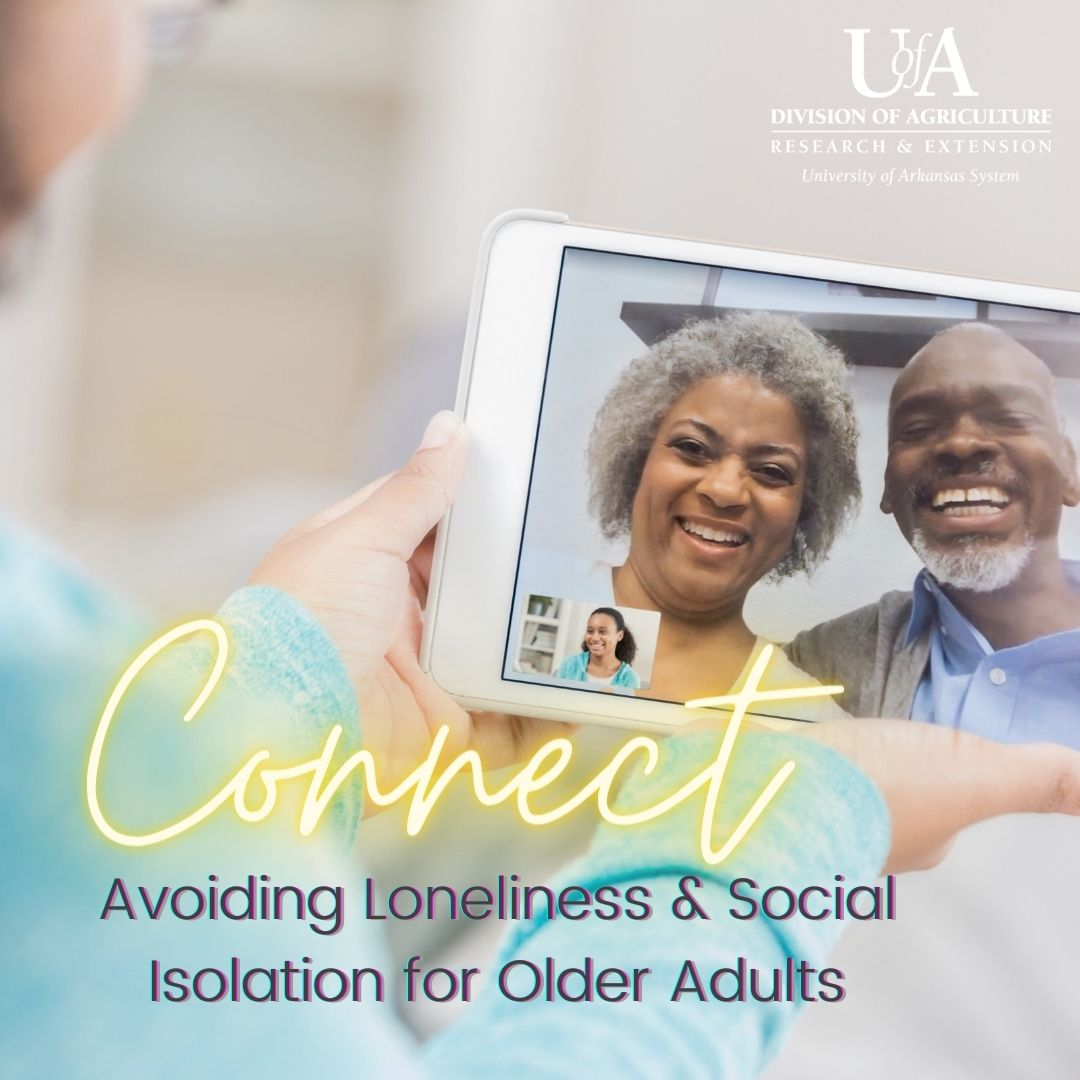 Title slide with photo of older couple talking to child on ipad