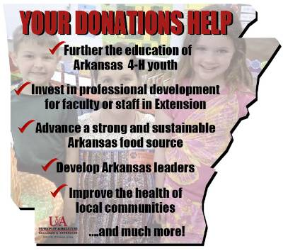 Donate to Arkansas Extension Service