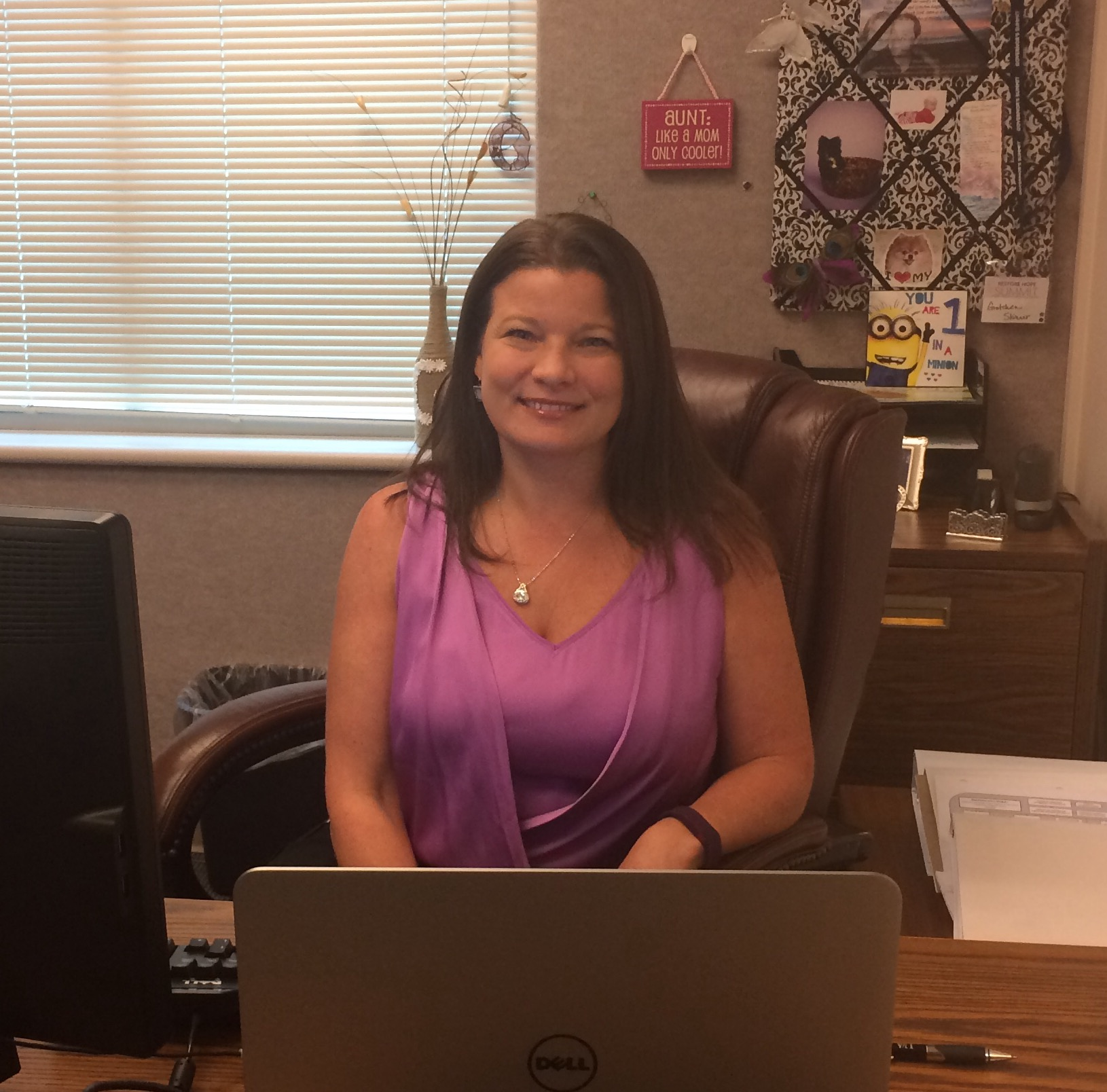 Photo of Gretchen Skinner, In-Service Training & Distance Education Manager