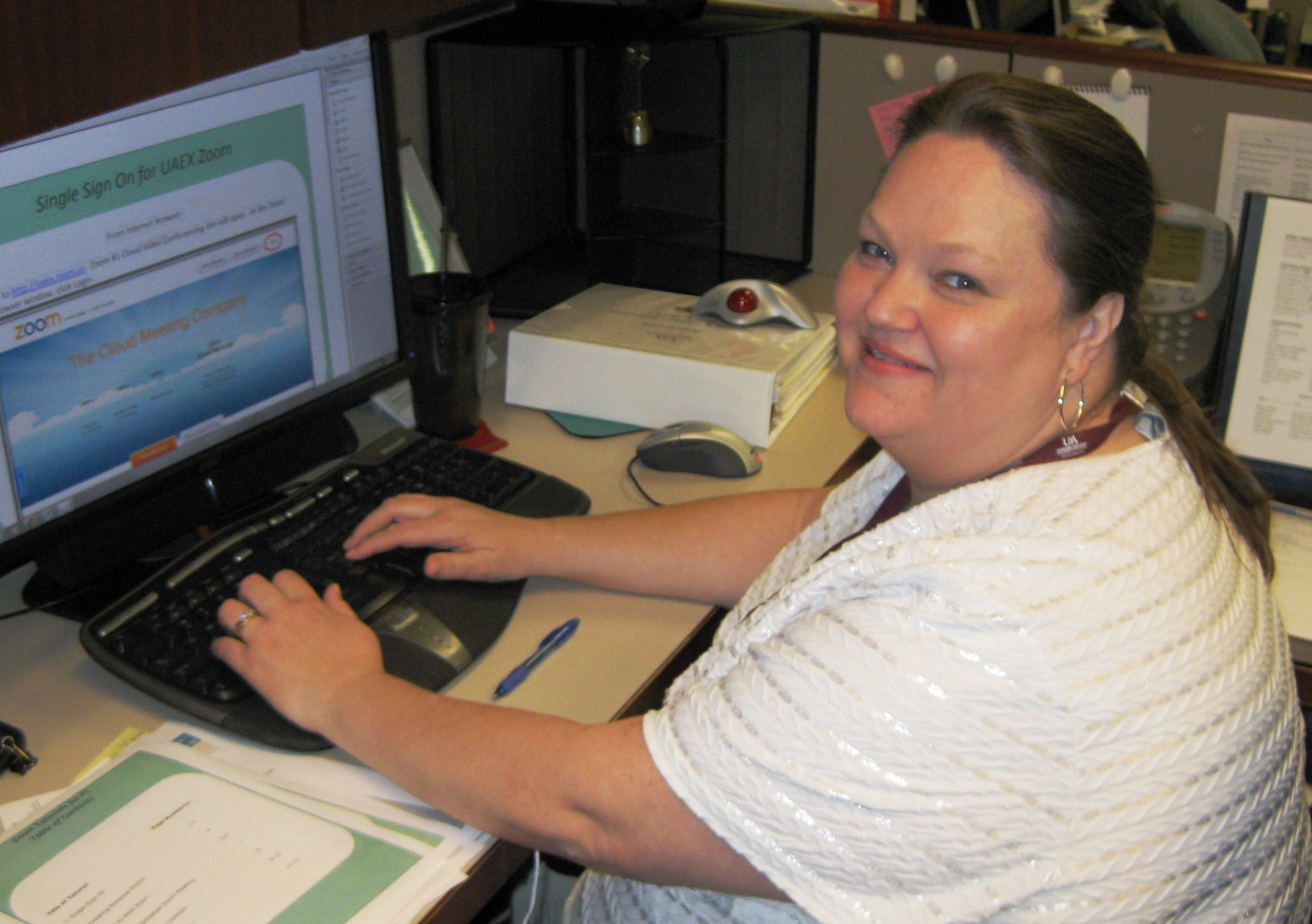 Photo of Janie Bryant, Administrative Specialist Three in the Program and Staff Development Department