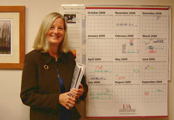 Image of Karen Ballard, Professor in the Program and Staff Development Department
