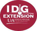 I dig extension logo with U of A logo