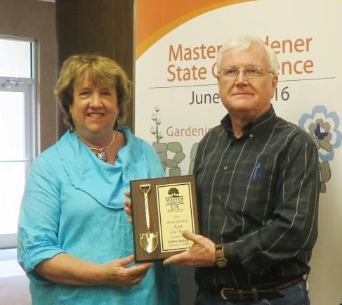 Photo of 2016 MG Agent of the Year Allen Bates of Garland County